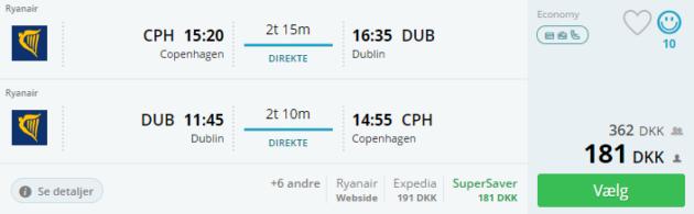 3 days Dublin