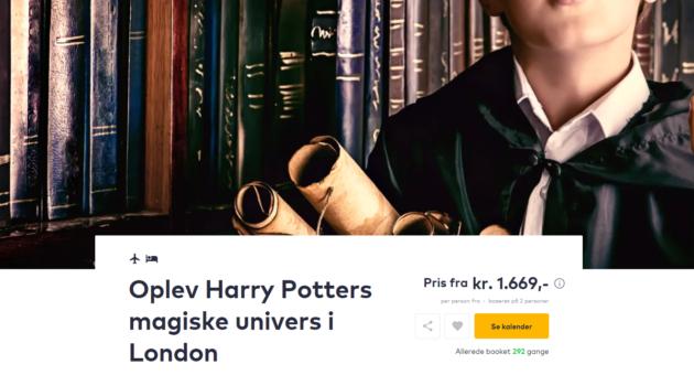 3 days Harry Potter