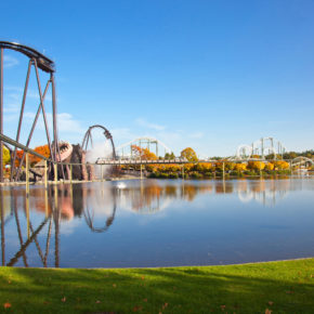 Heide Park Germany: 2 days in Soltau at great 4* hotel with entrance ticket, breakfast & spa from 469 kr