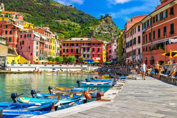 Italien Cinque Terre Boats