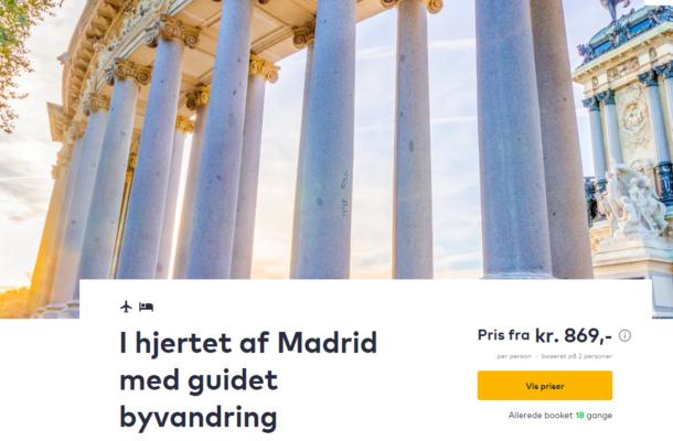 3 days Madrid
