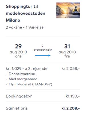 3 Tage Mailand