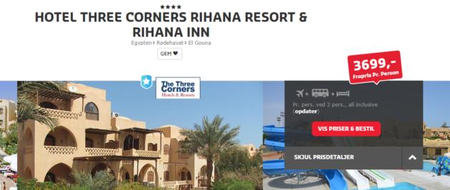 Egypt Hotel Three Corners