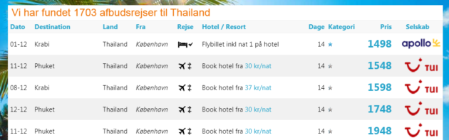 Thailand Flights