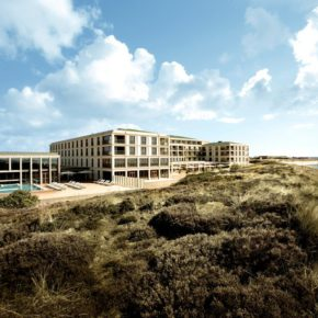Short trip to beautiful Sylt: 2 days at luxurious 5* hotel with sea view, half board & spa only 888kr